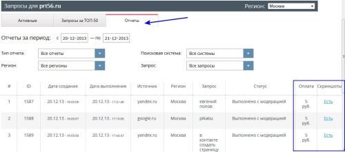 SERPClick - сервис улучшения поведенческих факторов от MegaIndex 4