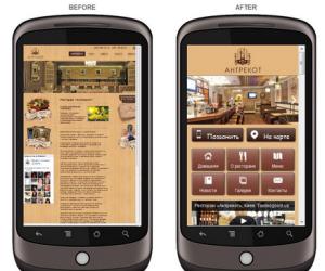 мобильные версии сайтов