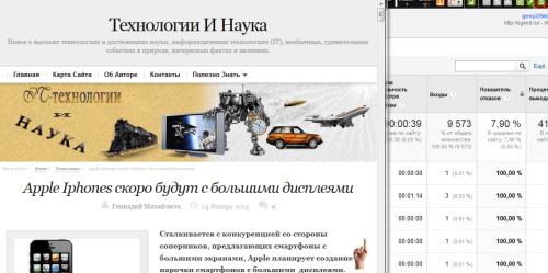 в визуальном режиме, в отдельной вкладке браузера откроется нужная страница вашего сайта: