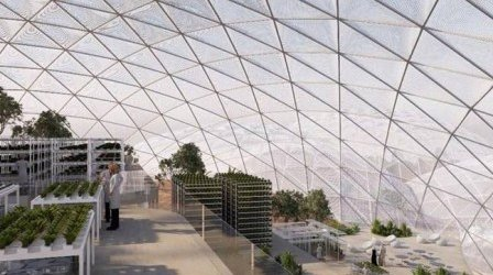 марсианский город в ОАЭ