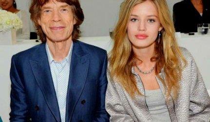 Мик Джаггер и его дочь Мэй Джаггер