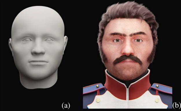 лицо солдата