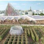В Париже будет построен самый большой сад на крыше