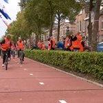Открыта велосипедная дорожка, построенная из переработанного пластика