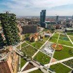 Проект «Городской лесной массив» родился в Милане