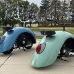 Мотоцикл-жук от Уолтера - не хотите ли прокатиться?