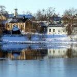 В этом финском городе ученики ездят в школу даже при -17 ° C