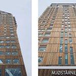 В Норвегии построили самый высокий деревянный небоскреб в мире