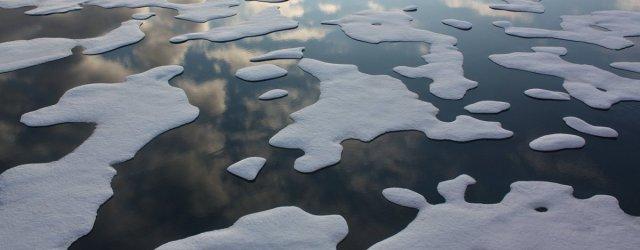лёд океан
