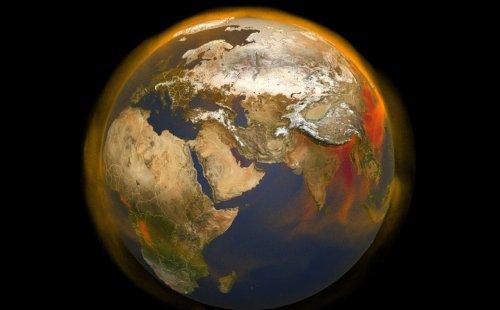 метан карта