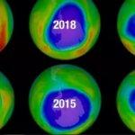 Озоновый слой над Антарктидой  находится в процессе «заживления»!