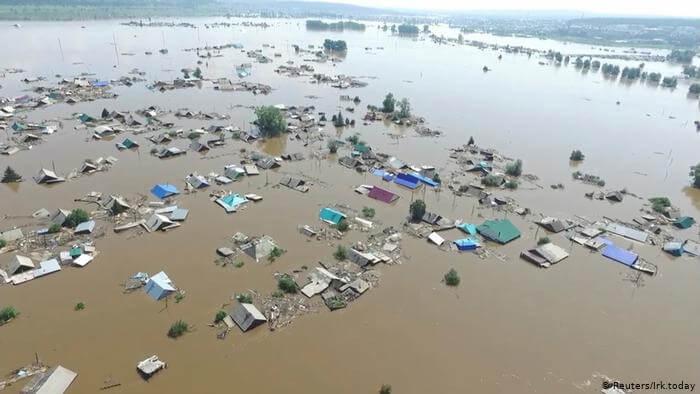 наводнение, Европа