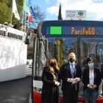 Специальные автобусы умудряются «съесть» смог, путешествуя по городу