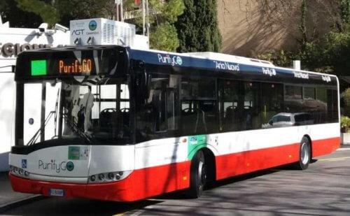 автобус экологичный