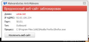 Malwarebites Anti-Malwar