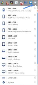 Window Resizer - узнай, как выглядит сайт на различных устройствах