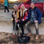 70-летняя женщина в одиночку вычистила 52 пляжа