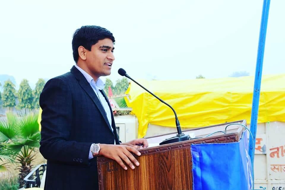 Рамвир Танвар, индийский парень