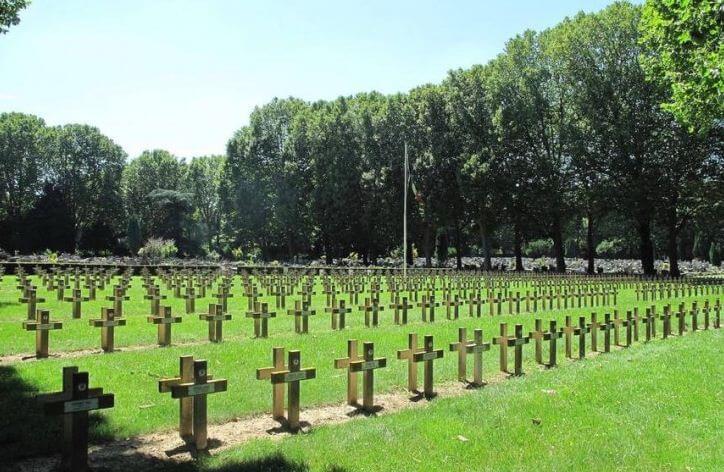 био кладбище в Париже