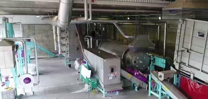 оборудование завода по переработке сырья