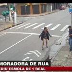 В Бразилии хладнокровно убили бездомную женщину - видео