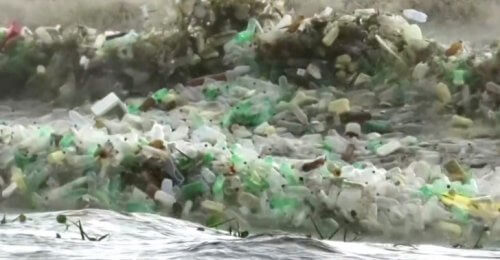 пластик море