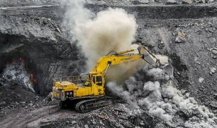 карьер угольный
