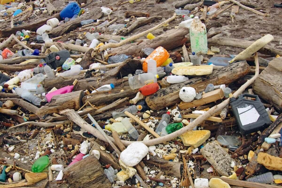 пластик мусор