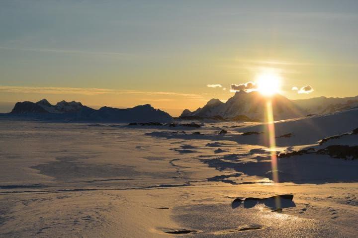 Антарктика ветры