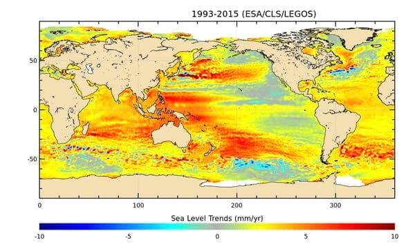 уровень моря