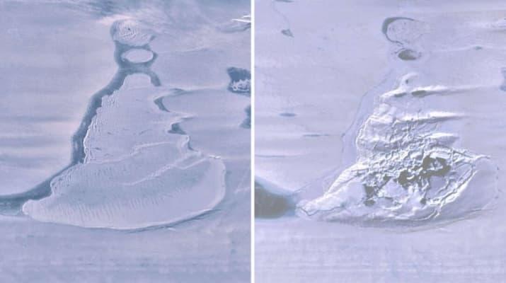 озеро Антарктида исчезло