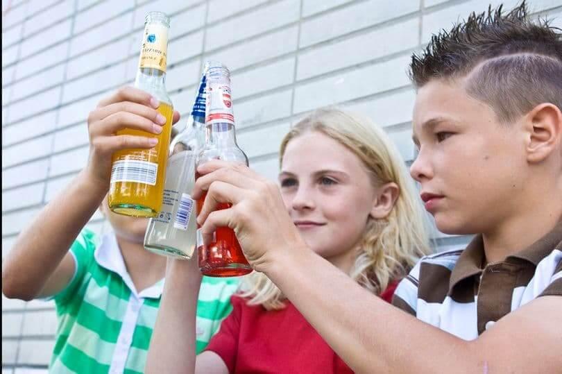 подростки алкоголь