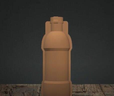 бутылка из бумаги - 2