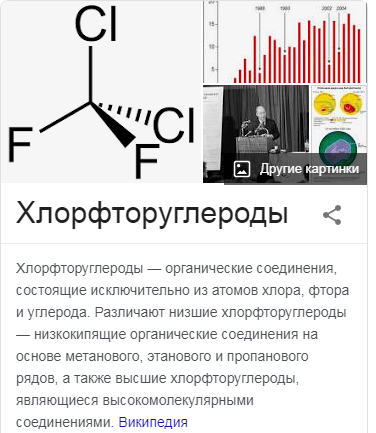 Хлорфторуглероды (ХФУ)